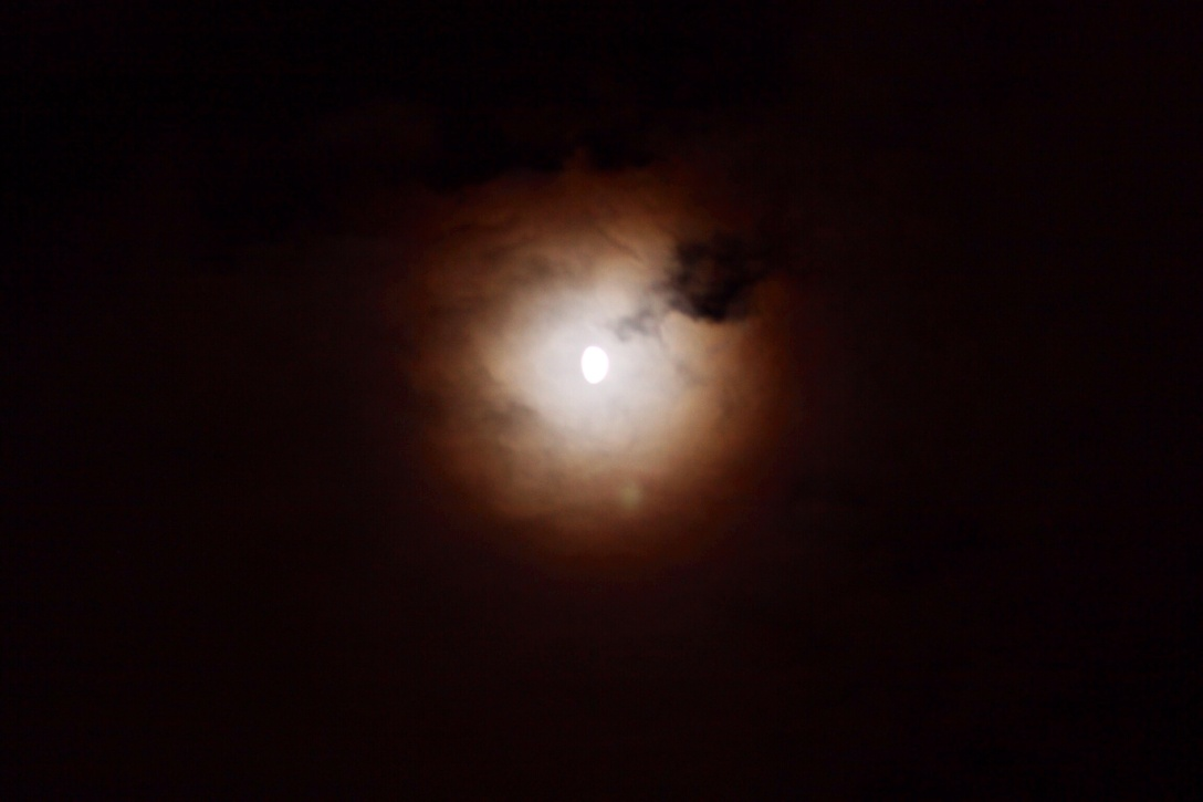 Moon after editing