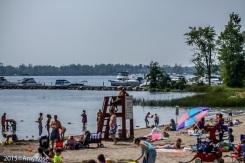 Boats, lifeguard, beach